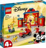 LEGO DISNEY Hasičská stanice a auto Mickeyho a přátel 10776 STAVEBNICE