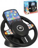 Baby můj první volant s dotykovou obrazovkou na baterie plast Zvuk