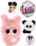 L.O.L. Zvířátko Surprise Fluffy Pets Chundeláček sněžítko 9 překvapení v kouli