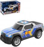 Teamsterz auto policie pickup na baterie Světlo Zvuk plast