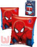 BESTWAY Dětské nafukovací rukávky 23x15cm Spiderman 1 pár do vody 98001