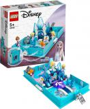LEGO PRINCESS Elsa a Nokk a jejich pohádková kniha dobrodružství 43189 STAVEBNICE
