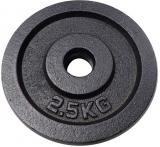 ACRA Kotouč náhradní litinový 1x 2,5kg závaží na činky 30mm
