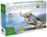 ALEXANDER Malý konstruktér Vrtulník konstrukční STAVEBNICE 145 dílků kov