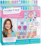 Laky na nehty 2ks dětský set s ozdobami a nálepkami