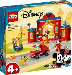 LEGO DISNEY Hasičská stanice a auto Mickeyho a přátel 10776 STAVEBNICE - zvětšit obrázek