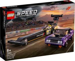 LEGO SPEED CHAMPIONS Mopar Dodge Dragster + Challenger 76904 STAVEBNICE - zvětšit obrázek