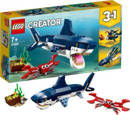 LEGO CREATOR Tvorové z hlubin moří 3v1 31088 STAVEBNICE - zvětšit obrázek