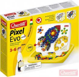 QUERCETTI Hra Pixel Evo Small mozaika s kolíčky set 160ks + 3 předlohy - zvětšit obrázek