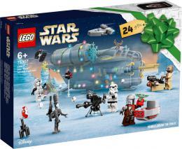 LEGO STAR WARS Adventní kalendář 75307 STAVEBNICE - zvětšit obrázek