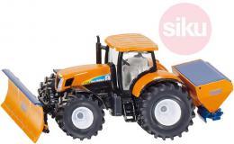 SIKU Traktor New Holland sypač s přední radlicí 1:50 model kov 2940 - zvětšit obrázek