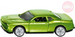 SIKU Auto osobní Dodge Challenger SRT Hellcat zelený model kov - zvětšit obrázek