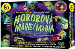 Hororová magie kouzelnická sada s dárkem a instruktážní knihou Pavel Kožíšek - zvětšit obrázek