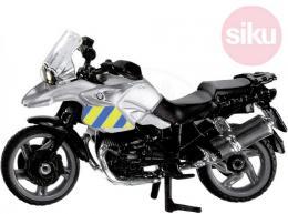 SIKU Motorka BMW POLICIE ČR policejní motocykl model kov 1049 - zvětšit obrázek