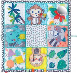 INFANTINO Baby deka hrací MAXI senzorická 122x122cm pro miminko - zvětšit obrázek