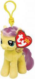PLYŠ Klíčenka TY My Little Pony Fluttershy 11cm přívěsek na klíče - zvětšit obrázek