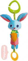 TINY LOVE Baby králíček Thomas textilní závěsný s kousátkem šustí cinká pro miminko - zvětšit obrázek