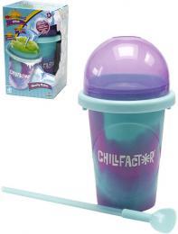 Chillfactor Slushy Maker výroba ledové tříště dětský shaker Modrofialový plast - zvětšit obrázek