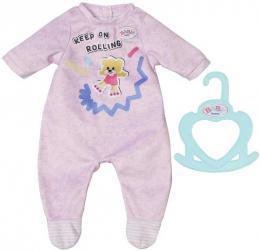 ZAPF BABY BORN Dupačky obleček set s ramínkem pro panenku miminko - zvětšit obrázek