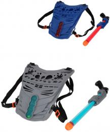 Sada vodní pumpovovací pistole 31cm s vestou s ukazatelem skóre 2 barvy - zvětšit obrázek