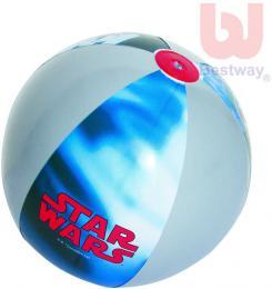 BESTWAY Míč dětský nafukovací 51cm Star Wars do vody - zvětšit obrázek