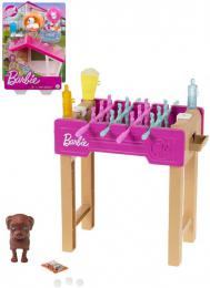 MATTEL BRB Barbie herní set mazlíček pejsek s doplňky 3 druhy - zvětšit obrázek