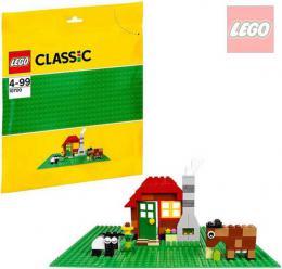 LEGO CLASSIC Podložka zelená ke stavebnicím 25,5x25,5cm 10700 - zvětšit obrázek