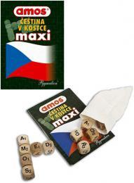 AMOS Hra čeština v kostce Maxi *SPOLEČENSKÉ HRY* - zvětšit obrázek