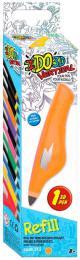 IDO3D Vertikal náhradní náplň oranžová do 3D pera tuhne pod UV světlem - zvětšit obrázek