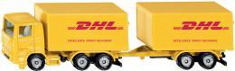 SIKU Blister Auto DHL kamion set s přívěsem model kov 1694 - zvětšit obrázek