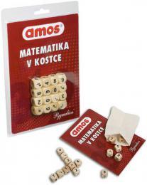 PYGMALION Amos hra Matematika v kostce set s kostkami v pytlíku na kartě - zvětšit obrázek