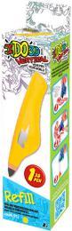 IDO3D Vertikal náhradní náplň žlutá do 3D pera tuhne pod UV světlem - zvětšit obrázek