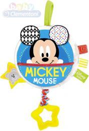 CLEMENTONI Baby chrastítko hudební skříňka natahovací Mickey Mouse - zvětšit obrázek