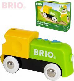 BRIO Baby moje první mašinka elektrická na baterie 9cm doplněk k vláčkodráze - zvětšit obrázek