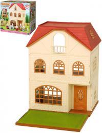 Dům třípatrový doplněk k herním sadám Sylvanian Families v krabici - zvětšit obrázek