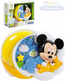 CLEMENTONI Baby projektor Mickeyho kouzelné hvězdy na baterie Světlo Zvuk - zvětšit obrázek
