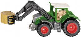SIKU Blister traktor Fendt Vario 1050 s uchopovačem balíků model kov 1539 - zvětšit obrázek