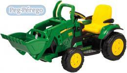PEG PÉREGO Traktor John Deer Ground Loader 12V 2 motory ELEKTRICKÁ VOZÍTKA - zvětšit obrázek