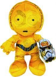 ADC PLYŠ C-3PO 17cm Star Wars (Hvězdné Války) *PLYŠOVÉ HRAČKY* - zvětšit obrázek
