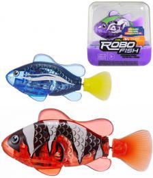 ZURU Robo Alive roboryba plave mění barvu na baterie do vody 6 druhů - zvětšit obrázek