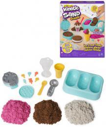 SPIN MASTER Kinetic Sand výroba zmrzlin kreativní set magický písek s nástroji - zvětšit obrázek