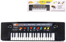 Klávesy elektronický dětský keyboard 37 kláves pianko s mikrofonem - zvětšit obrázek