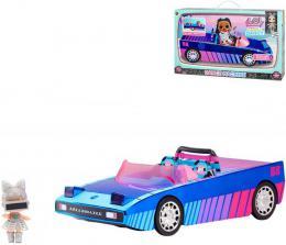 L.O.L. Surprise! Auto Dance luxusní s panenkou a doplňky na baterie UV Světlo 3v1 - zvětšit obrázek