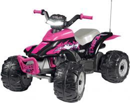 PEG PÉREGO CORRAL T-REX 330W 12V PINK Elektrické vozítko - zvětšit obrázek
