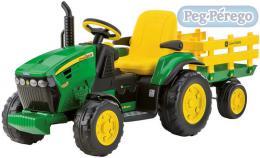 PEG PÉREGO Traktor  JOHN DEERE GROUND FORCE 12 V elektrický traktor pro děti - zvětšit obrázek
