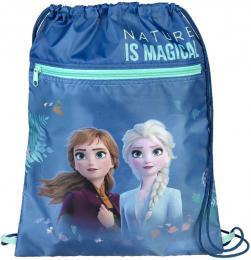 Sáček na bačkory Ledové Království 2 (Frozen) 32x41cm pytlík na přezůvky - zvětšit obrázek