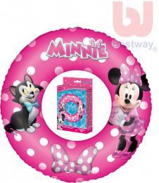 BESTWAY Kruh dětský 56cm nafukovací plavací kolo Minnie do vody - zvětšit obrázek