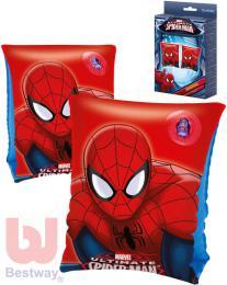 BESTWAY Dětské nafukovací rukávky 23x15cm Spiderman 1 pár do vody 98001 - zvětšit obrázek