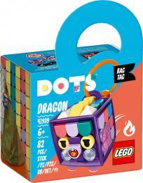 LEGO DOTS Ozdoba na tašku dráček 41939 STAVEBNICE - zvětšit obrázek