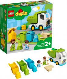 LEGO DUPLO Popelářský vůz a recyklování 10945 STAVEBNICE - zvětšit obrázek